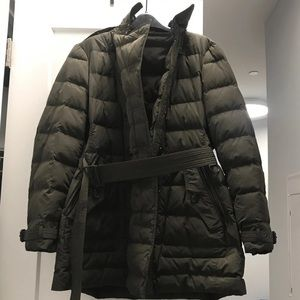 Burberry Brit Womens Down Coat XL $995